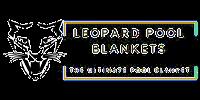 Leopard Pool Blankets